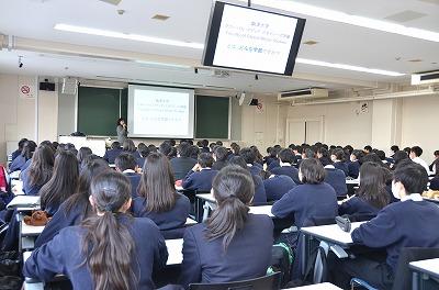 駒澤大学高等学校の1・2年生を対...